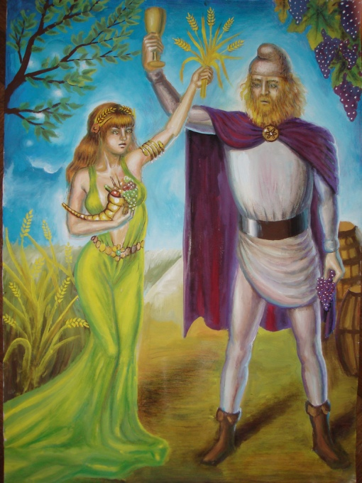 Demeter and Bacchus