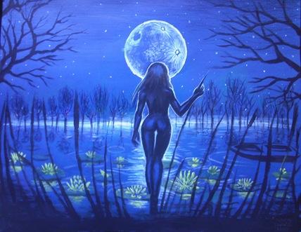 Lacul - pictura