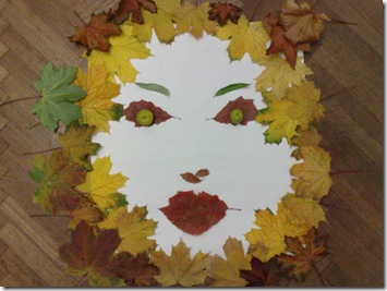 Covor de frunze de  toamna - Portretul toamnei din frunze