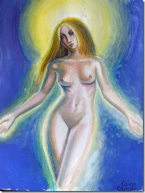 O altfel de icoana a maicii domnului - Fecioara Maria nud