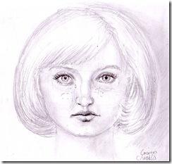 Anna - portret in creion - pencil portrait