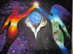 Iubire cosmica doua suflete indragostite