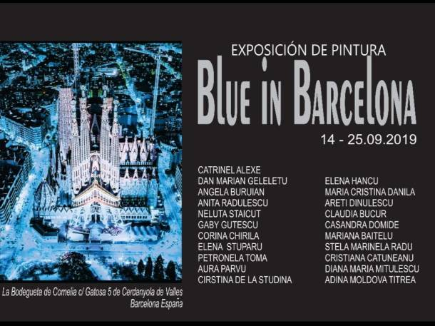 Afis blue in barcelona